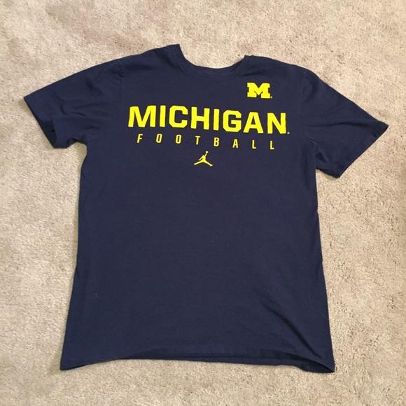 0b6102b98b71 Jordan Other - Michigan Football Air Jordan Tee